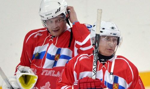 Sauli Niinistö & Vladimir Putin