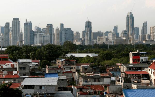 Manila skyline banner