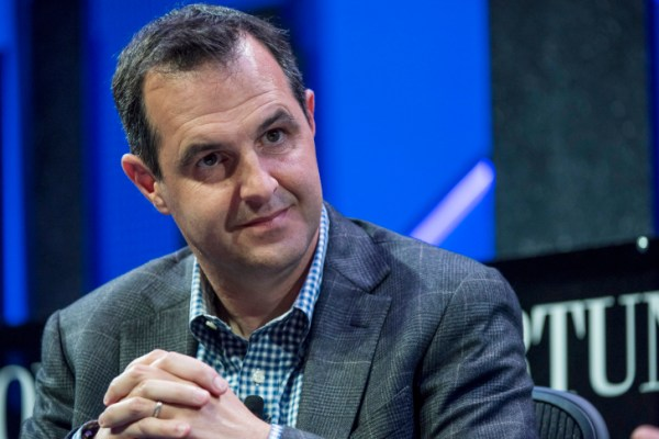 Renaud Laplanche, co-founder and chief executive officer of LendingClub Corp., listens to a discussion during the 2015 Fortune Global Forum in San Francisco, California, U.S., on Tuesday, Nov. 3, 2015. The forum gathers Global 500 CEO's and innovators, builders, and technologists from some of the most dynamic, emerging companies all over the world to facilitate relationship building at the highest levels. Photographer: David Paul Morris/Bloomberg via Getty Images
