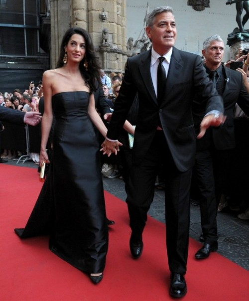 amal-alamuddin-and-george-clooney-look-happy