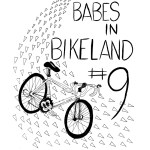 9th Annual Babes in Bikeland art