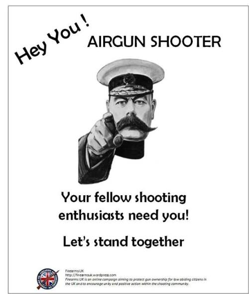 """A Firearms UK meme from the """"Unity Series"""" on Airgun Shooters"""