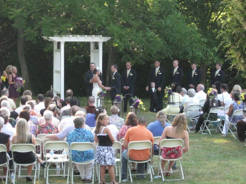 Smithview Ceremony by the creek
