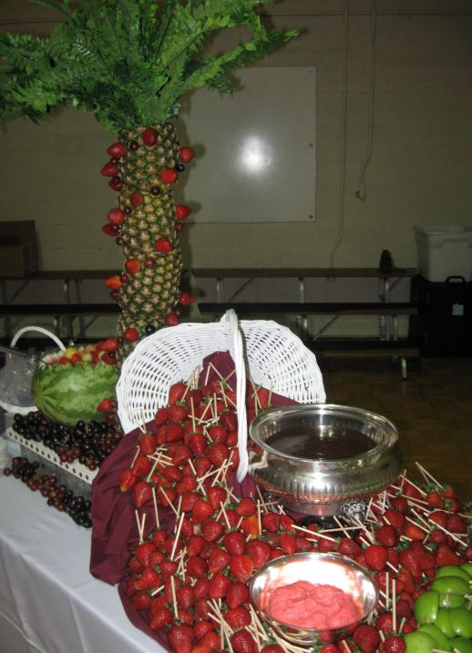 Fresh Fruit and Sweets