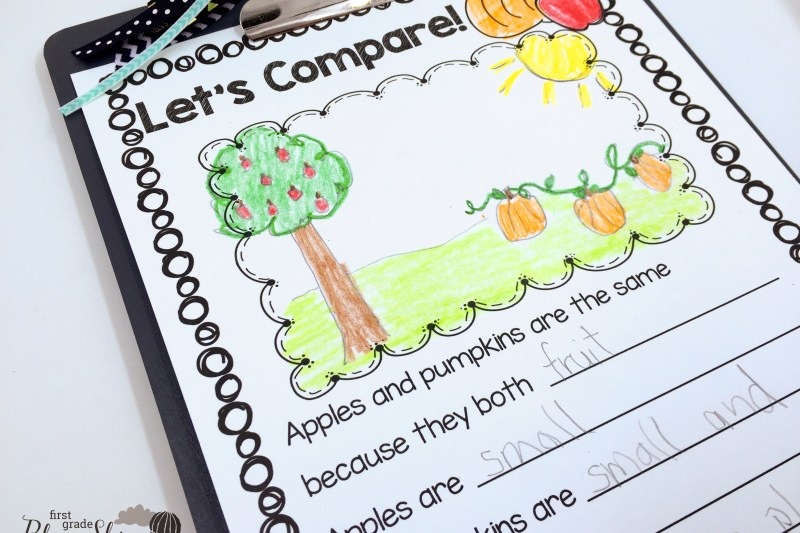 Expository Writing First Grade