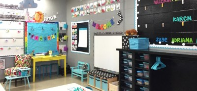 Classroom decoration pictures
