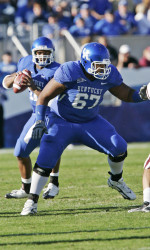 Larry Warford is considered one of the more talented linemen in the 2013 NFL Draft.