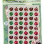 מדבקות גירוד-תפוח רימון