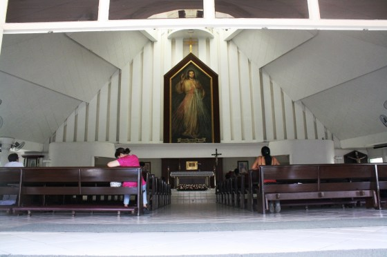 The Divine Mercy Shrine.