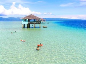 Sand bar in Bais, Negros Oriental.