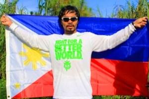 Boxing champ Manny Pacquiao.