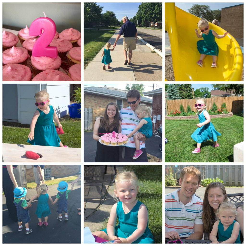 Monica's 2nd birthday Collage