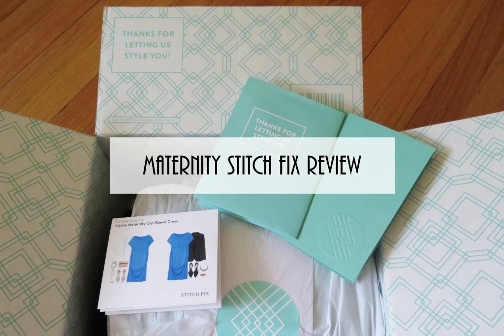 maternity stitch fix review