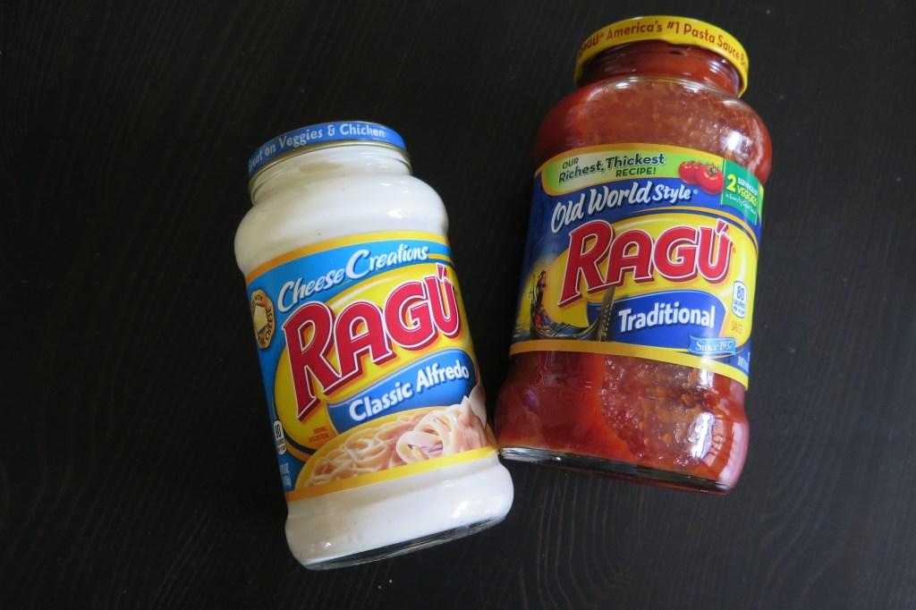 Ragu pasta sauce