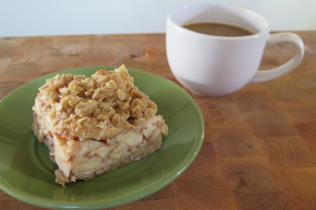 This apple crisp makes for a warm fall breakfast