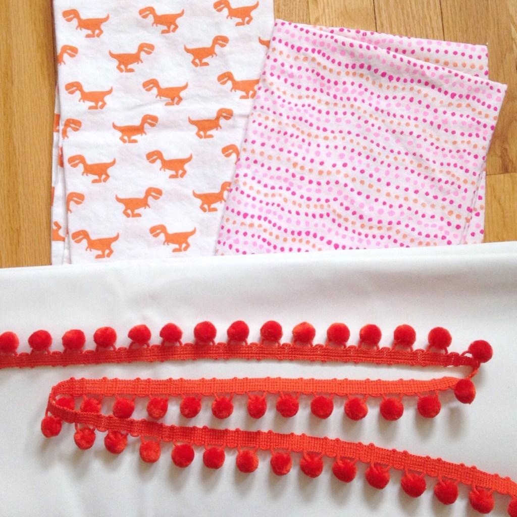 pom pom curtain supplies
