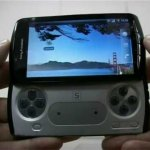 El PlayStation Phone capturado en video.