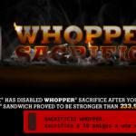 Sacrificio+whopper