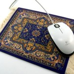 Alfombrilla persa para el ratón