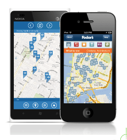 Fodor's Apps Feature Interactive Maps