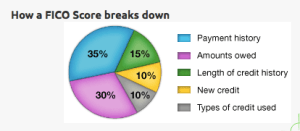 Components of FICO Credit Score