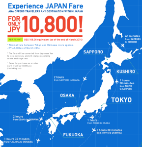 Experience Japan Fare