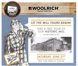 Woolrich Factory Tour