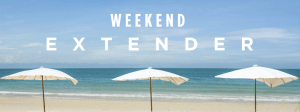 Club Carlson's Weekend Extender