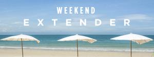 Club Carlson's Weekend Extender