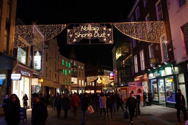 Grafton Street, Dublin, Ireland