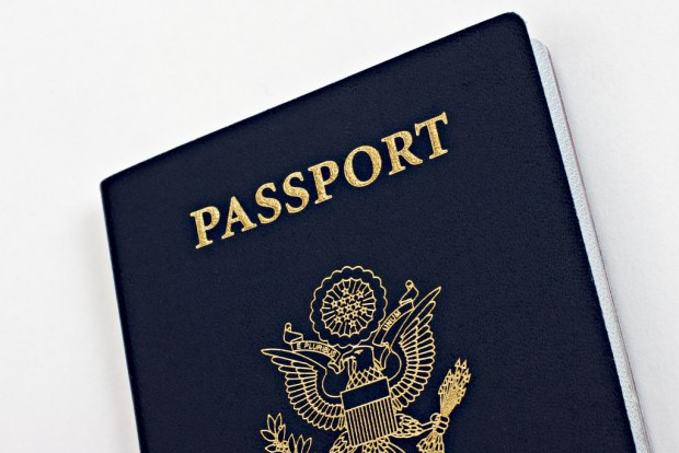 Bring your passport in your carry-on bag