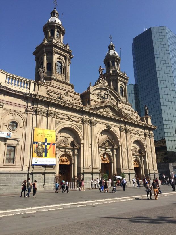Santiago, Chile Metropolitan Cathedral