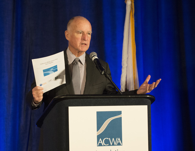 Governor Jerry Brown Receives Cold, Dead Fish Award Four Years In A Row