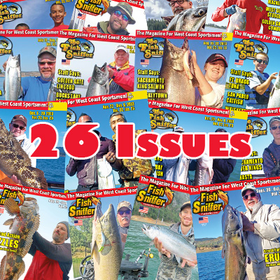 1-Year/ 26 Issues w/ FREE Fish Sniffer Hat
