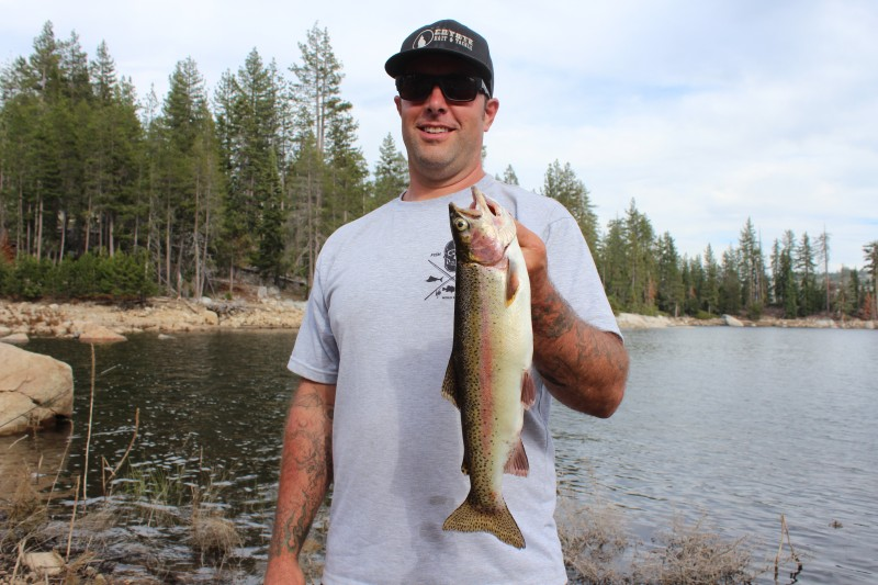Lake Alpine: Trophy Trout At Wilderness Edge