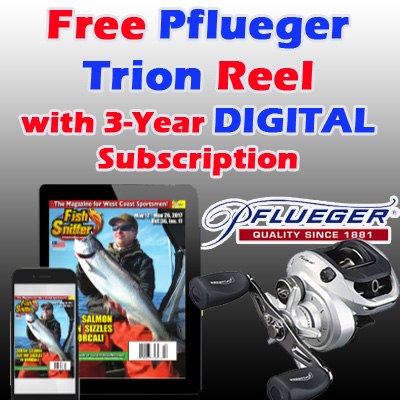3 Years DIGITAL Subscription w/ FREE Pflueger Trion Reel