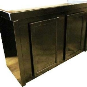 Aquarium Cabinet Stand, 48 by 13 Inch, Black | Fish Tank EquipmentFish