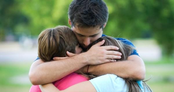 hug your family
