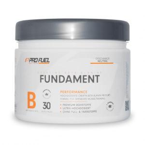 Das Profuel Fundament ist ein spezielles Produkt, das eine Basis für jedes Training sein sollte. Profuel Fundament hier kaufen.