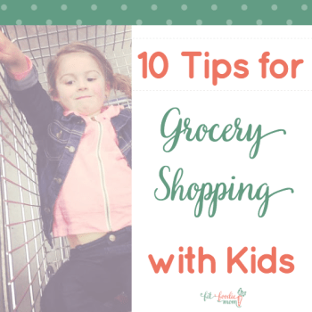 Shopping With Kids: 10 Supermom Tips