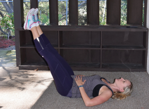 core strength exercises leg lifts