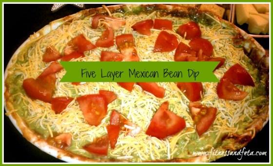Five Layer Mexican Bean Dip