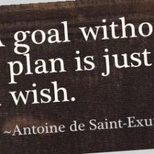 Reach your goals with a plan - here are 5 tips for creating a good plan