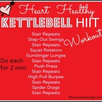 Heart Healthy Kettlebell HIIT Workout - for more instructions visit:
