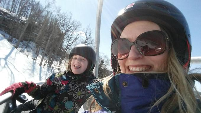 A Day of Skiing at Glen Eden With My Girl