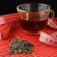 Cup of green tea for weight loss