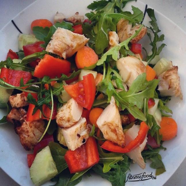 Salat.mit.Putenbrust