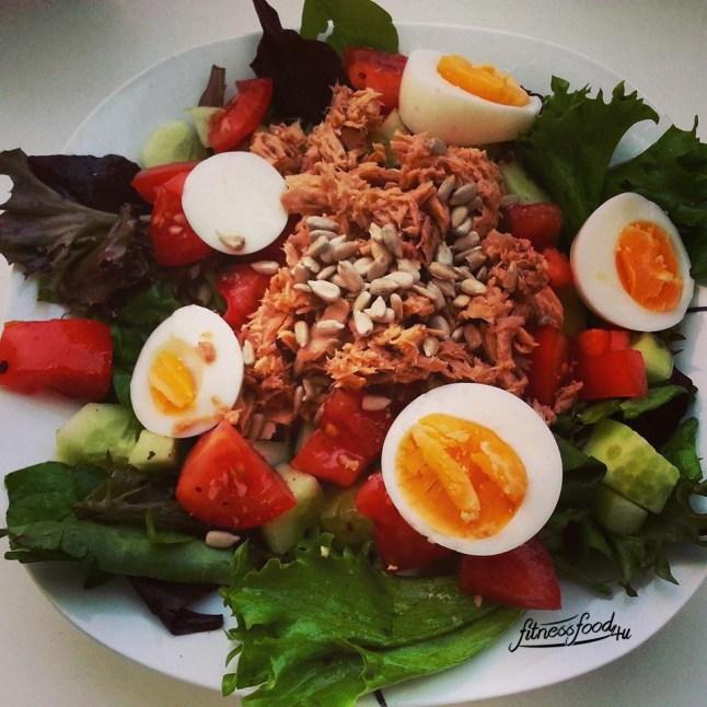 Thunfisch Ei Salat