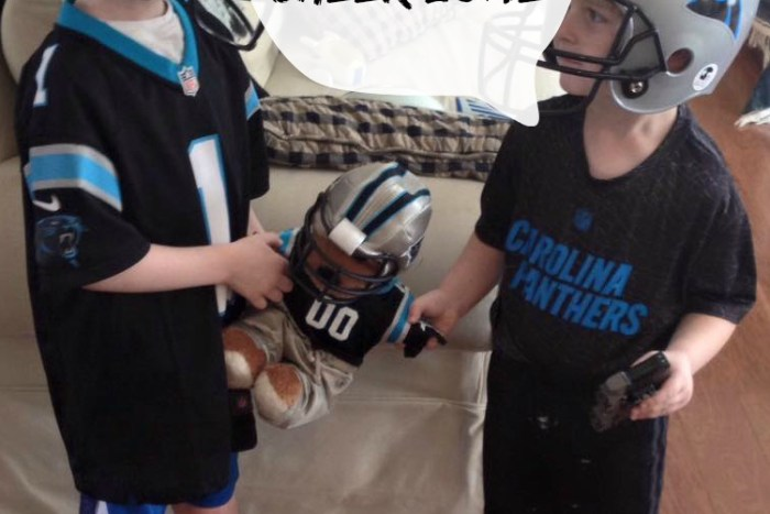 Fun ideas to create a Cheer Zone as you celebrate your favorite football team.