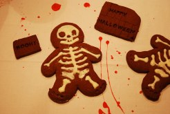 halloween, fitundgluecklich.net, buffet, diy, cookies, skeleton, skelett